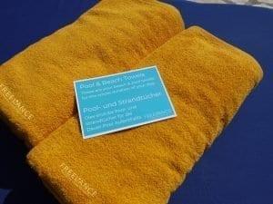 Villa Pool towels